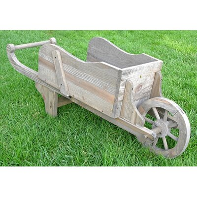 Colonial Wheel Barrow Rectangular Planter