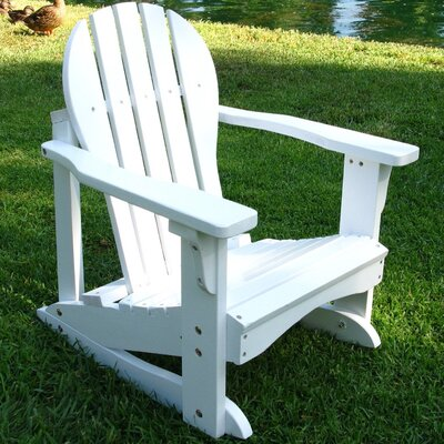Shine Company Inc. Captiva Adirondack Kid's Rocking Chair