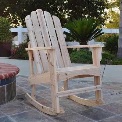 Shine Company Inc. Marina Indoor / Outdoor Rocking Chair