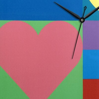 PS Collection Mod Love Canvas Wall Clock