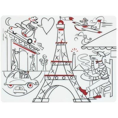 Modern-twist Paris Daydream Placemat