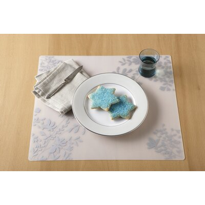 Modern-Twist Jardin Placemat Filled