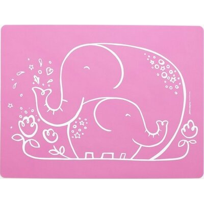 Modern-Twist Elephant Hugs Meal-mat