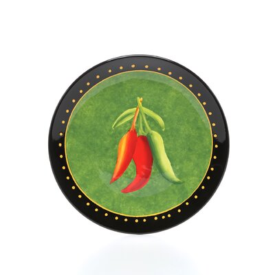 Certified International Caliente by Joy Hall Salad Plate