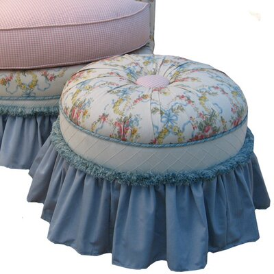 Blossoms and Bows Princess Ottoman
