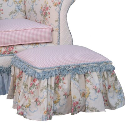 Angel Song Blossoms and Bows Toybox Ottoman