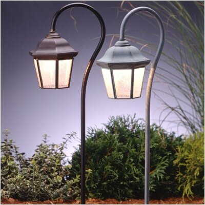 Kichler Replacement Glass and Cage for Traditional Olde Bronze Lantern Landscape Path Light