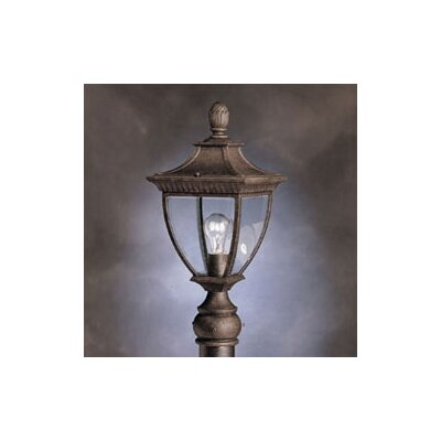 Kichler Amesbury 1 Light Outdoor Post Lantern