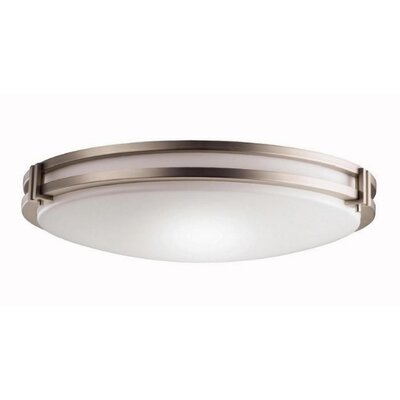 Kichler 3 Light Flush Mount