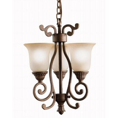 Kichler Larissa 3 Light Mini Chandelier