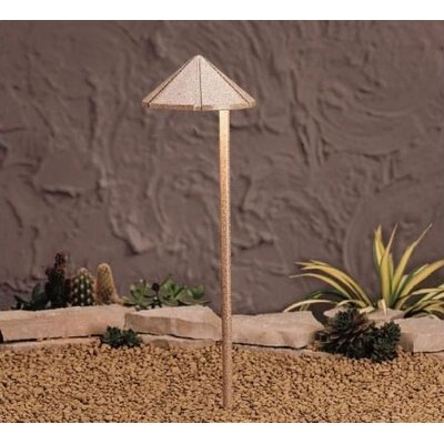 Kichler Six Groove LED Path Light in Beach