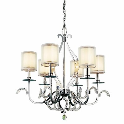 Jardine 6 Light Chandelier