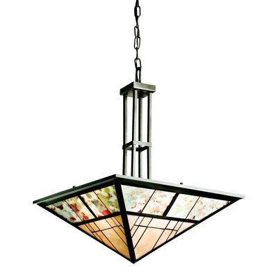 Prairie Ridge 3 Light Inverted Pendant