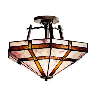 Kichler Tacoma 2 Light Semi Flush Mount