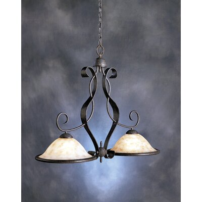 High Country 2 Light Incandescent Pendant