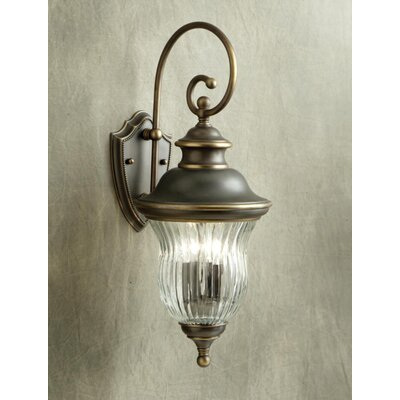 Kichler Sausalito  Incandescent Outdoor Wall Lantern in Olde Bronze