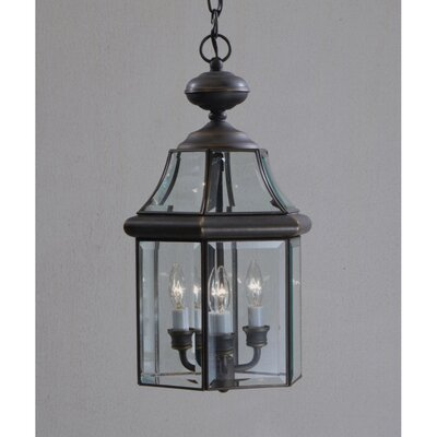 Kichler Embassy Row 3 Light Outdoor Ceiling Pendant
