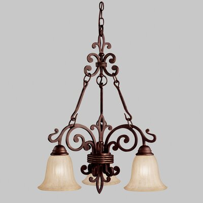Kichler Wilton 3 Light Chandelier