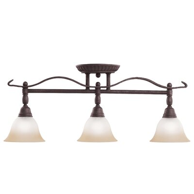 Pomeroy 3 Light Semi Flush Mount