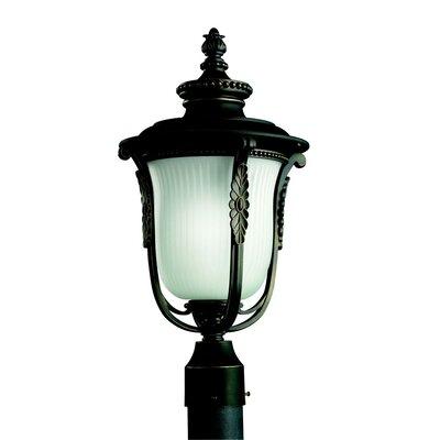 heath zenith 1 light 8 outdoor post lantern with motion. Black Bedroom Furniture Sets. Home Design Ideas