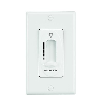Kichler Light Dimmer Control in Almond