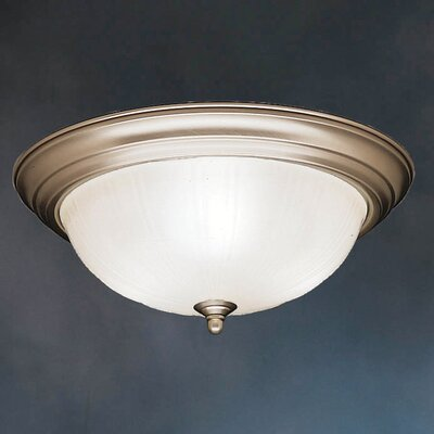 Kichler Royal Jubilee 3 Light Flush Mount