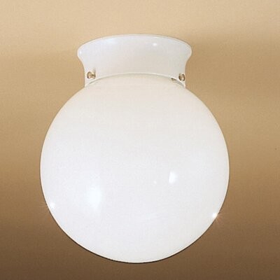 "Kichler Ceiling Space 7.5"" 1 Light Flush Mount"
