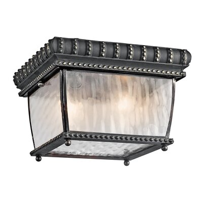 Kichler Venetian Rain Outdoor Flush Mount