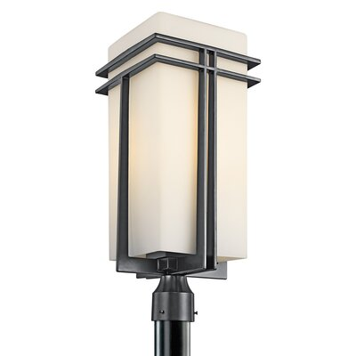 Kichler Tremillo  Post Lantern in Black