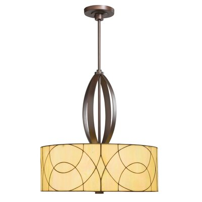 Kichler Spyro 3 Light Inverted Drum Pendant