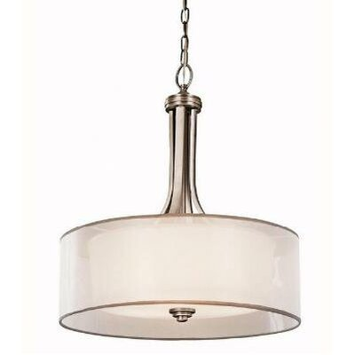 Lacey 3 Light Drum Pendant
