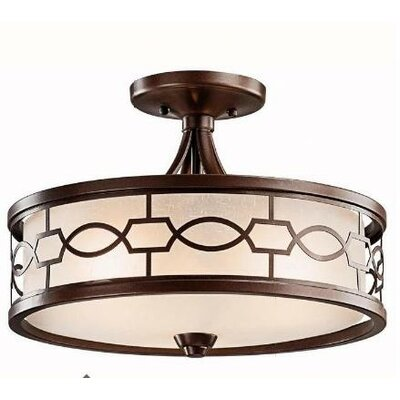 Kichler Punctuation 3 Light Convertible Drum Pendant