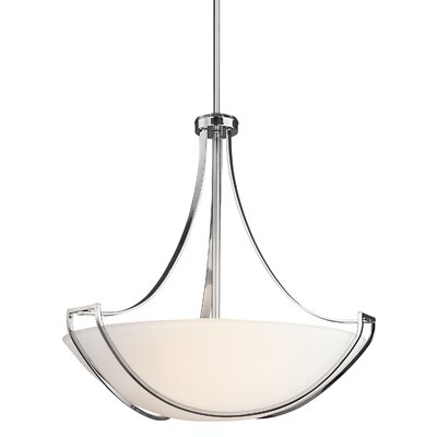 Owego 4 Light Inverted Pendant