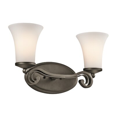 Kichler Wickham 2 Light Bath Vanity Light