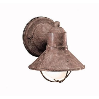 Kichler Seaside Outdoor Wall Lantern in Olde Brick