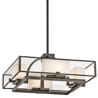 Kichler Isola 4 Light Semi Flush Mount