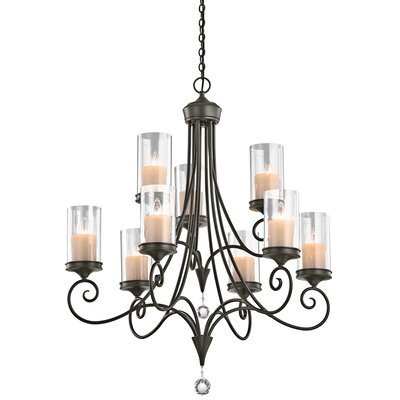 Kichler Laurel 9 Light Chandelier