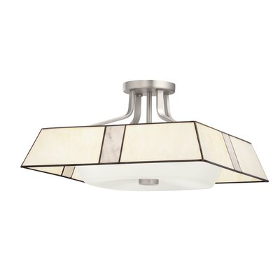 Kichler Pending Family Assignment 4 Light Semi Flush Mount