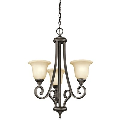 Kichler Monroe 3 Light Chandelier