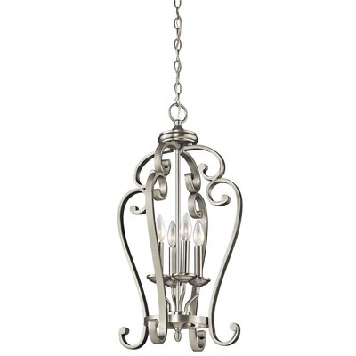 Kichler Monroe 4 Light Foyer Cage