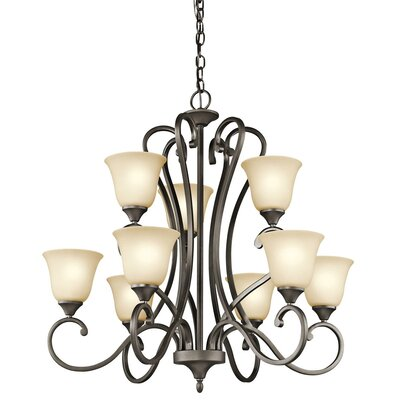 Kichler Feville 9 Light Chandelier