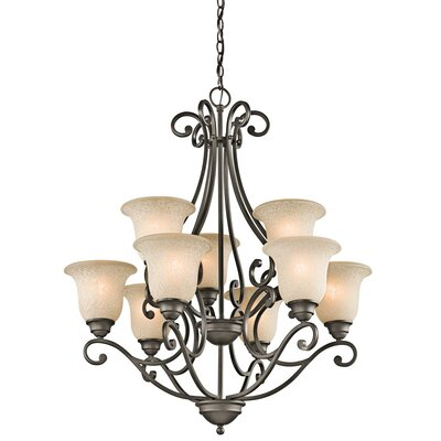 Kichler Camerena 9 Light Chandelier