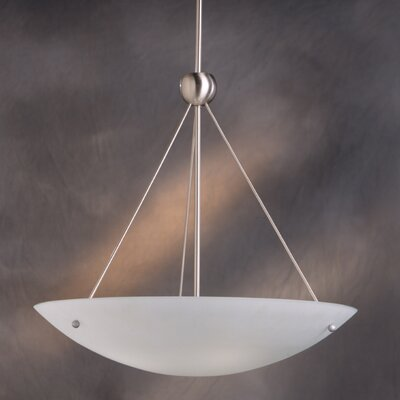 Family Spaces 4 Light Inverted Pendant