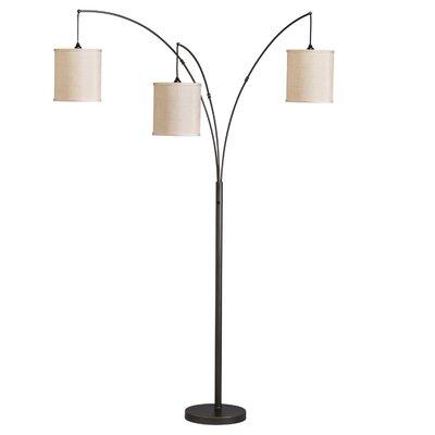 kichler westwood light arc 3 light floor lamp. Black Bedroom Furniture Sets. Home Design Ideas