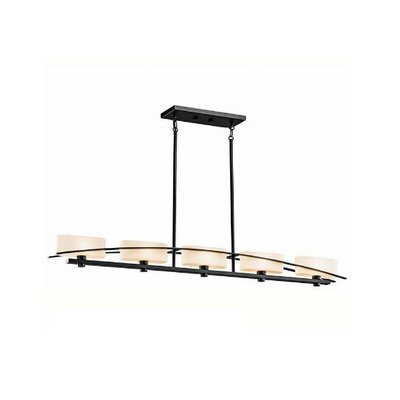 Kichler Suspension 5 Light Linear Chandelier