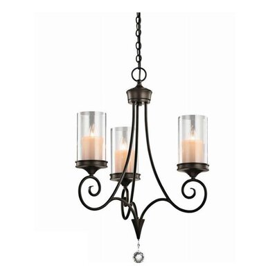 Laurel 3 Light Chandelier