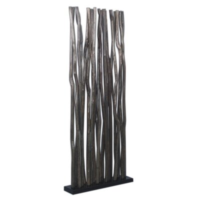 Jeffan Jungle Room Divider in Black
