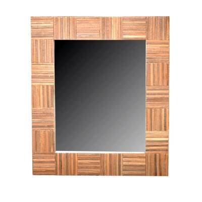 Jeffan Cheyenne Rectangle Wood Mirror