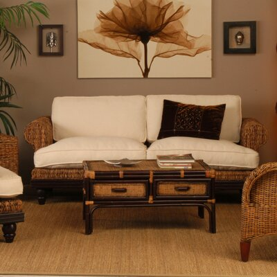 Tropical Abaca Small Astor Sofa