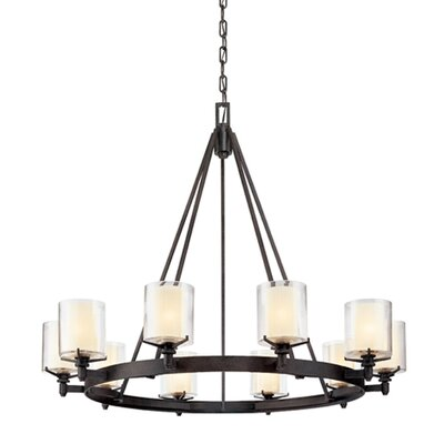 Troy Lighting Arcadia 10 Light Chandelier